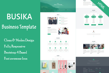 Busika - Ultimate Business Responsive HTML Template